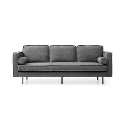 "Stampley 89"" Wide Square Arm Sofa - Wayfair"