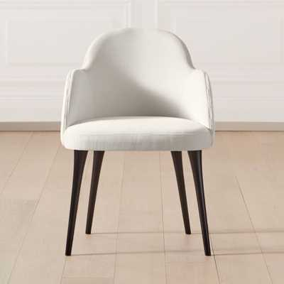 Giulia Chair Ivory - CB2