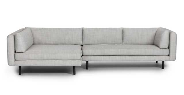 Lappi Serene Gray Left Sectional Sofa - Article