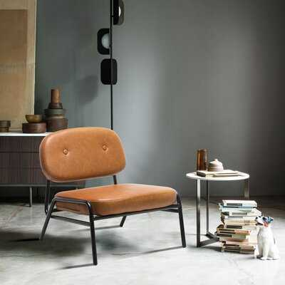 PU Leather Side Chair - Wayfair