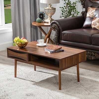Plascencia Coffee Table with Storage - Wayfair