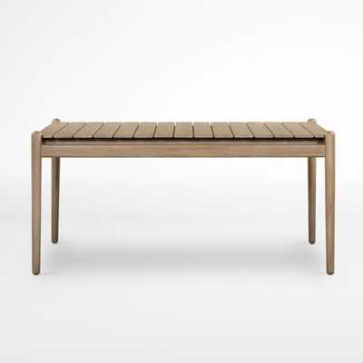 """Oakmont Outdoor 64"""" Dining Table - Crate and Barrel"""