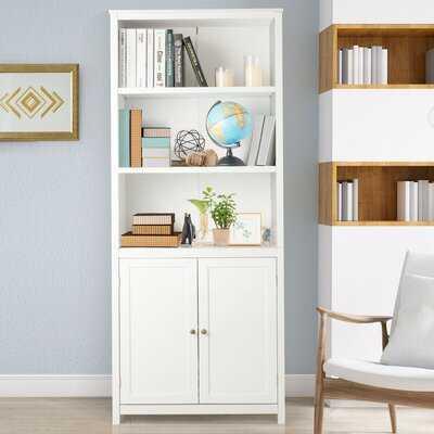 "Alexzandra 71.5"" H x 29"" W Standard Bookcase - Wayfair"
