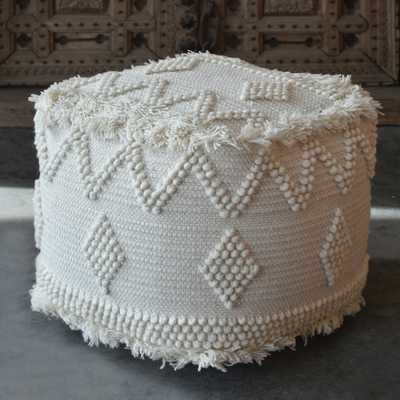 Uriah Ivory Pouf - Hudsonhill Foundry