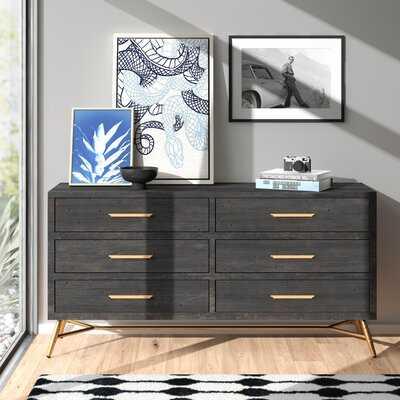 Catalina 6 Drawer Double Dresser - AllModern