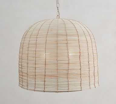 Cambria Seagrass Pendant - Pottery Barn