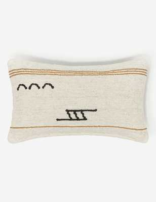 Iconic Stripe Lumbar Pillow By Sarah Sherman Samuel - Lulu and Georgia
