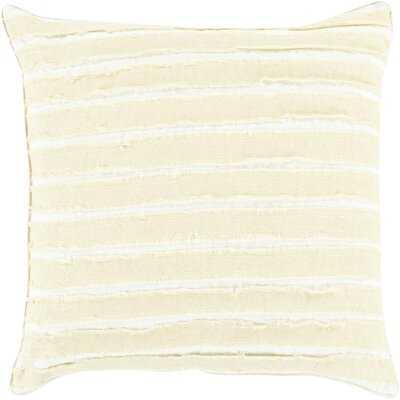 Cassady Linen Down Striped Throw Pillow - AllModern