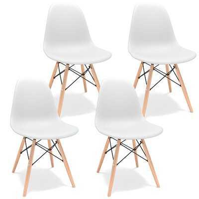 West Oak Lane Side Chair (set of 4) - Wayfair