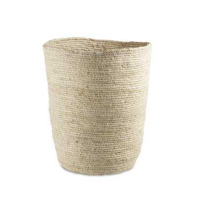 Berke Wicker Waste Basket - Birch Lane