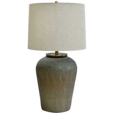 Crestview Collection Lanister Verdi Glass Urn Table Lamp - Style # 82E78 - Lamps Plus