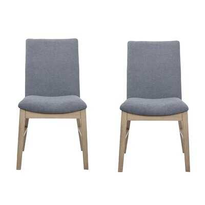 Salvi Side Chairs Denim Blue (Set Of 2) - Wayfair