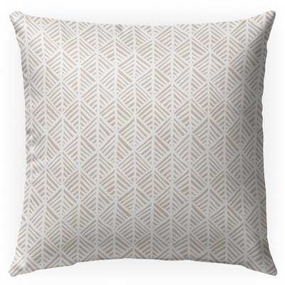 Germano Cotton Indoor / Outdoor Geometric Pillow - Wayfair
