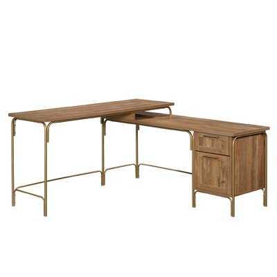 Mercury Row Hanner L-Shape Executive Desk - Wayfair