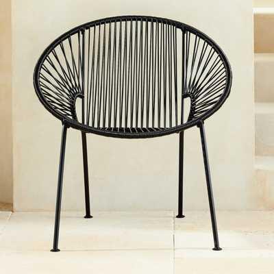 Ixtapa Black Chair - CB2