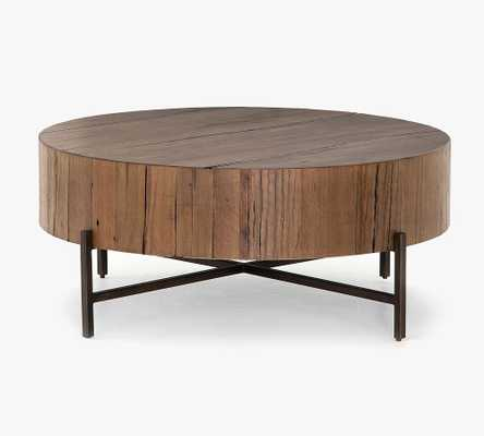 Fargo Reclaimed Wood Coffee Table, Natural Brown - Pottery Barn