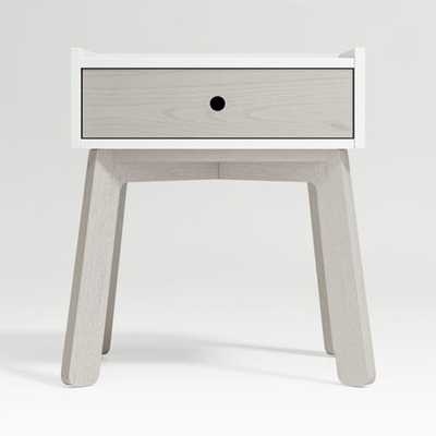 Lamont Two-Tone Nightstand - Crate and Barrel