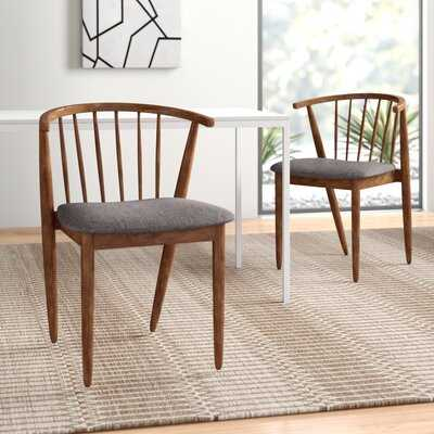 Riley Solid Wood Dining Chair (Set of 2) - AllModern