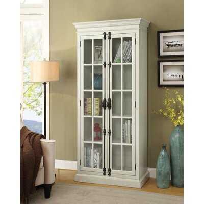 2-Door Tall Cabinet Antique White - Wayfair