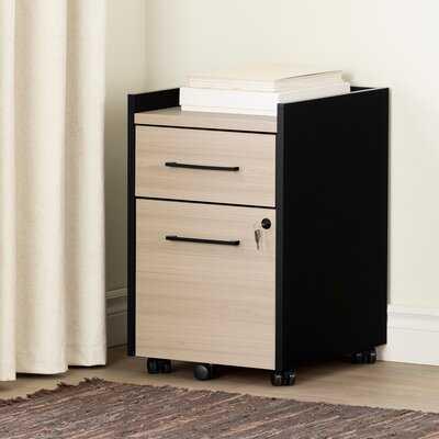 Helsy 2-Drawer Mobile Vertical Filing Cabinet - Wayfair