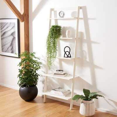 Dametris Solid Wood Ladder Bookcase - Wayfair