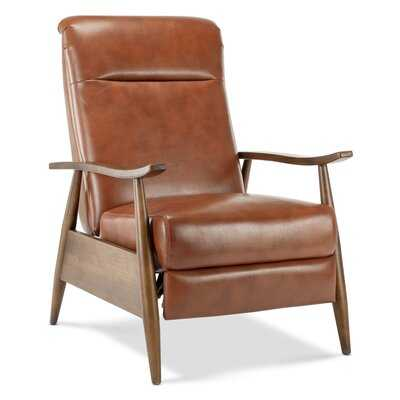 Teasley Faux Leather Manual Recliner - Wayfair