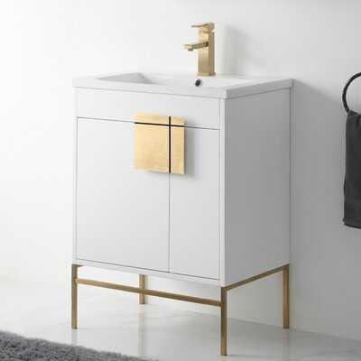 "Lee 24"" Single Bathroom Vanity Set - AllModern"