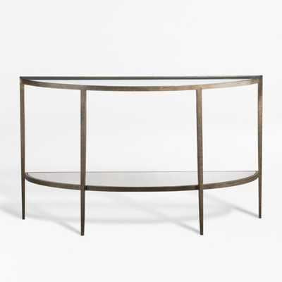 Demilune Console Table - Crate and Barrel