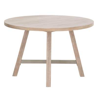 """Cross 47"""" Round Dining Table - Alder House"""