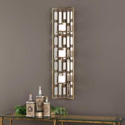 Loire Mirrored Wall Sconce - Hudsonhill Foundry