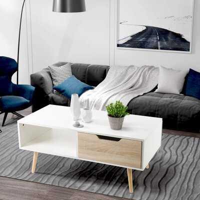 Linscott Coffee Table with Storage - Wayfair