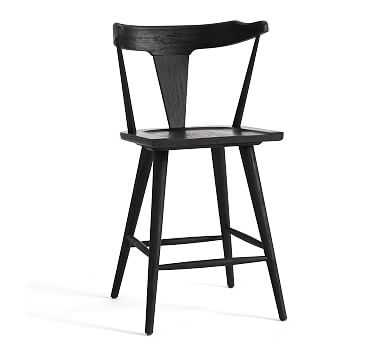 Westan Counter Stool, Black - Pottery Barn
