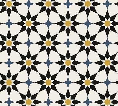 Soleil Moroccan Wallpaper - Pottery Barn
