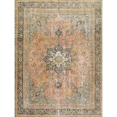 Oriental Wool Beige/Gray Area Rug - Wayfair