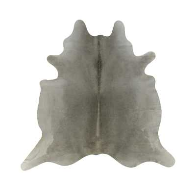 "Saddlemans Cowhide Gray/Tan Area Rug Rug Size: 6' x 7'6"" - Perigold"