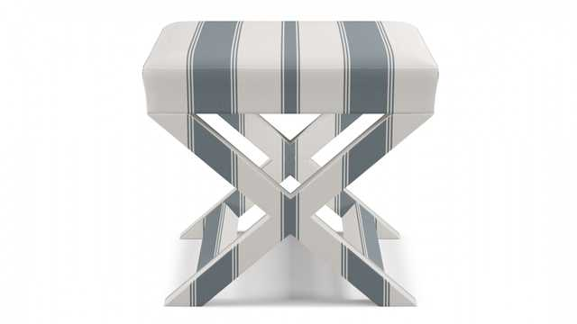 X bench | French Blue Clarence Stripe - The Inside