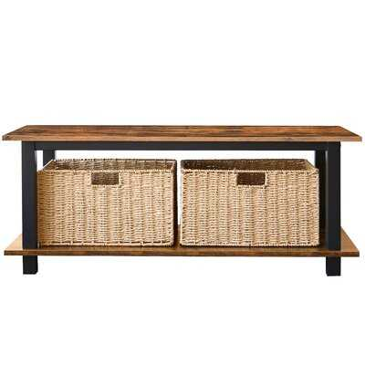 Temme Coffee Table with Storage - Wayfair