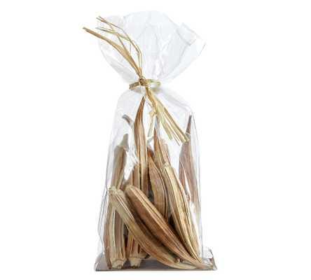 Dried Okra Vase Filler, Natural - Bag - Pottery Barn