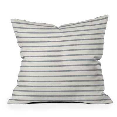 "Dhurban Stripe by Holli Zollinger - Outdoor Throw Pillow 20"" x 20"" - Wander Print Co."