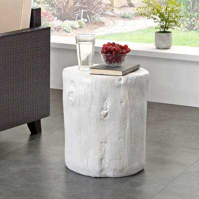 Spilsby Tree Stump End Table - Wayfair