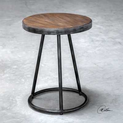 Hector Round Accent Table - Hudsonhill Foundry