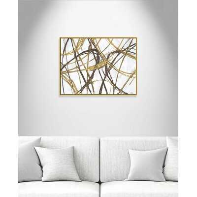'Expressions' Floater Frame Painting Print on Canvas - Wayfair