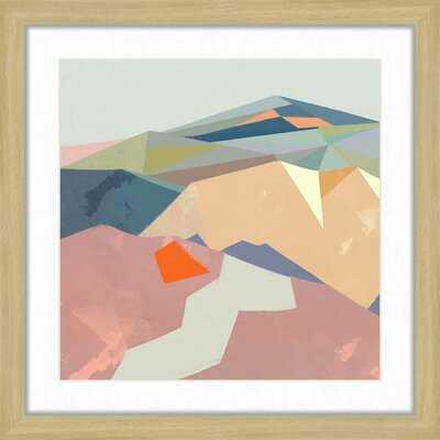 'Tera Mountains' - Picture Frame Painting Print - Wayfair