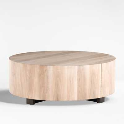 Dillon Ashen Walnut Coffee Table - Crate and Barrel