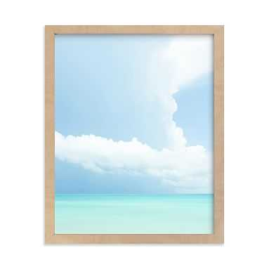 Summer Clouds Series 2 Framed Art by Minted(R),Natural, 8x10 - Pottery Barn Teen