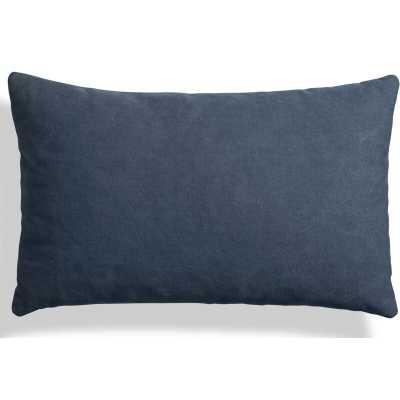 """Blu Dot Signal Canvas 20"""" X 13"""" Lumbar Pillow Color: Barto Navy - Perigold"""