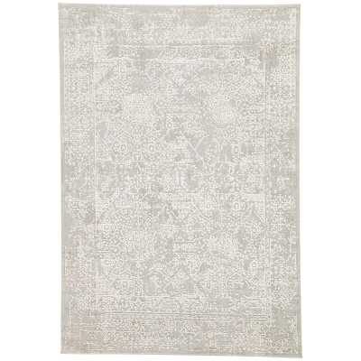 "Lolani Power-Loomed Gray Area Rug Rug Size: Rectangle 7'6"" x 9'6"" - Perigold"