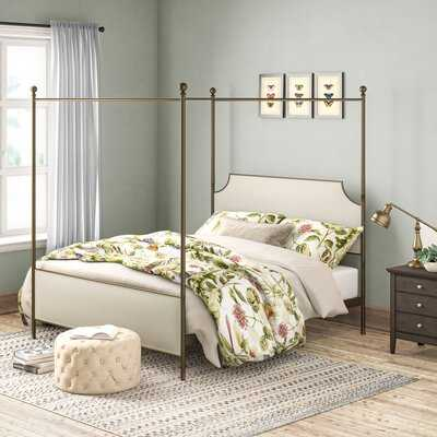 Willison Bedroom Collection Upholstered Canopy Bed - Birch Lane