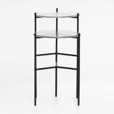 Maylan Clear Glass End Tables, Set of 2 - Crate and Barrel