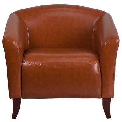 Chafin Leather Lounge Chair - Wayfair